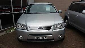 2004 Ford Territory Ghia SX (AWD) 4.0L 6 Cylinder AUTOMATIC Waratah Newcastle Area Preview
