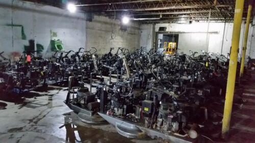 PROPANE BUFFER, BURNISHER 27-inch 18HP 603cc Kawasaki engine in AS-IS condition