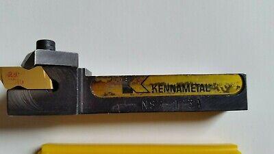 Kennametal Nsr 123a Top Notch Tool Holder W5 Inserts Nt3r Kc850 80 Degree