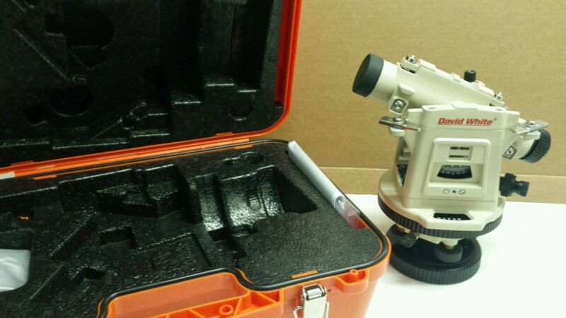 DAVID WHITE LT8-300P TRANSIT LEVEL OPTICAL PLUMMET