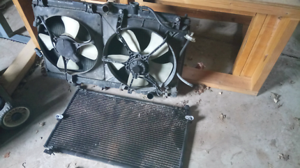 Honda accord 94 radiator and fans