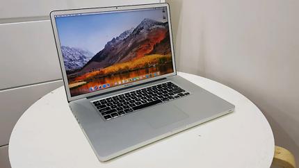 """MacBook Pro 17"""" Quad-Core i7 16Gb Ram 128GB Ssd+500Gb Hd 1Gb Ddr5"""