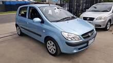2009 Hyundai Getz Hatchback LOW KMS Williamstown North Hobsons Bay Area Preview