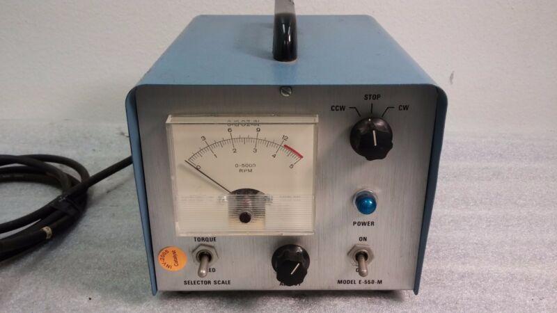 Electro-craft E-550-mh0 Motomatic Motor Control Speed Controller Pn: 9022-0025