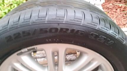 16 inch wheel rim with tyre tire commodore Hallett Cove Marion Area Preview