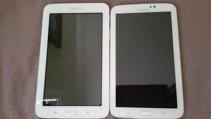 2 Samsung Galaxy tab 3.