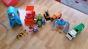 Boys bulk toy-Octonuts, Tonka, John Deere, bob the builder Keilor Downs Brimbank Area Preview