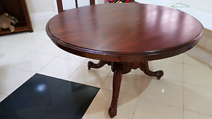 Sold Marogany  dinning table Mount Lawley Stirling Area Preview