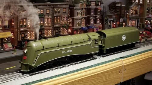 MTH US Army 4-6-4 Commodore Hudson Steam Engine 30-1739-1