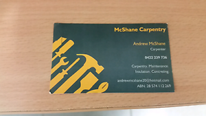 Carpenter available for any works needed Bowen Whitsundays Area Preview
