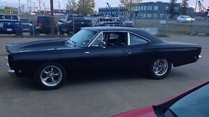 1968 Plymouth Roadrunner RM21 pro street/pro touring.