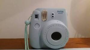 Blue Instax Mini 8 polaroid camera Highton Geelong City Preview