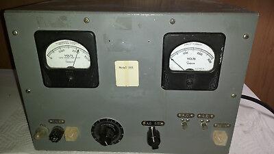 Powerstat Variable Autotransformer Model 845 2000vdc 2000vac