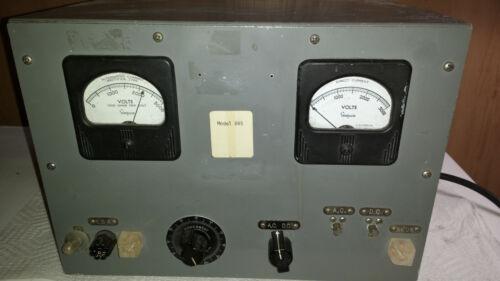 Powerstat Variable Autotransformer Model 845, 2000VDC, 2000VAC