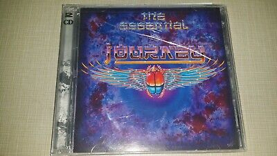 2 DISC SET THE ESSENTIAL JOURNEY CD 2001 MUSIC ALBUM SONGS 16 TRACKS HARD ROCK  16 Track Hard Disk
