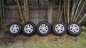 Toyota Land Cruiser 200 series genuine wheels Noosaville Noosa Area Preview