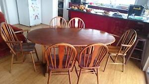 Dining set for 6 - chairs and table - URGENT / FREE! Kinglake Murrindindi Area Preview
