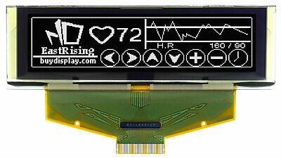 White Serial Spi Graphic 2.8 Oled Module Display 256x64 Wtutorialconnector