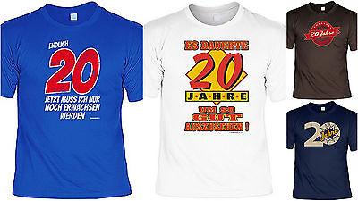 T-Shirt zum 20.Geburtstag - 20 Jahre - Coole Sprüche / Motive Geburtstag 20 (Coole Sprüche T-shirt)