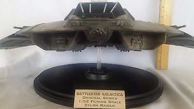 Original Series Battlestar Galactica   CYLON RAIDER  - BUILT & PAINTED FX