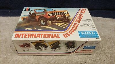 Vintage Ertl International Offroad Scout  SS II 1/25 Scale Boxed Sealed