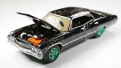 Greenlight 1967 Chevy Impala Black Sport Sedan CHASE GREEN Detailed  1:64