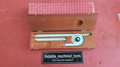 Usa Made Starrett Vernier Protractor C359 Machinist Tools