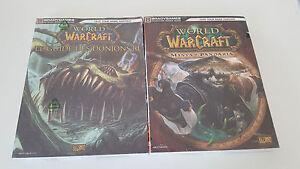 Wow 2 Guides World Of Warcraft - Guide des donjons 3 - Mists of Pandaria Neufs - France - État : Neuf: Objet n'ayant jamais été ouvert, ou dont l'emballage comporte toujours le sceau de fermeture intact du fabricant (si applicable). L'objet comporte toujours le film plastique d'origine (si applicable). Consulter l'annonce du vendeu - France