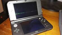 "Used Black ""New Nintendo 3DS XL"" with 7 games Newcastle Newcastle Area Preview"