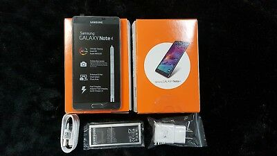 New Samsung Galaxy Note 4 SM-N910A BLACK AT&T Unlocked 4G LTE 32GB Shadow