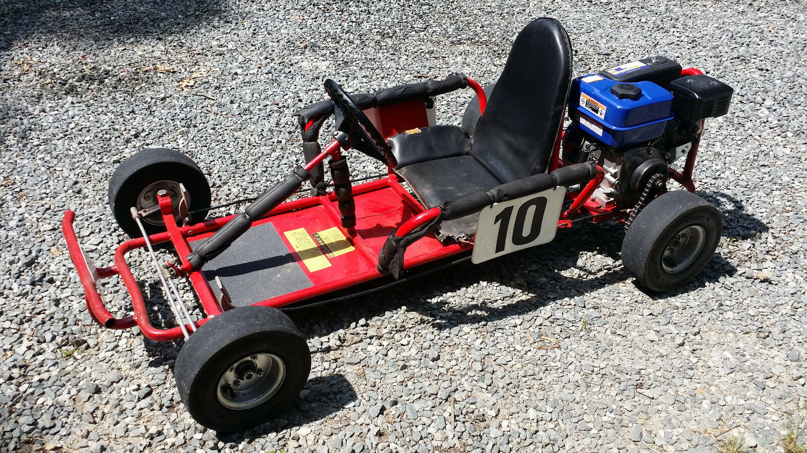 80s 90s Kartco Go Kart Yard Kart With Modified 6 5HP Honda Clone