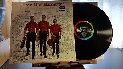 The Kingston Trio From The Hungary I Capital T 1107 Live 1St Press