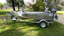 2014 Makocraft 376 Topper Tracker with 15 hp Yamaha Vinifera Swan Hill Area Preview