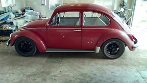 1968 VW beetle new power train and front suspension