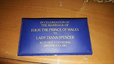 H.R.H THE PRINCE OF WALES TO LADY DIANA SPENCER COINS 1981