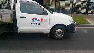 2008 toyota Hilux white Automatic. LPG.Petrol Hallam Casey Area Preview
