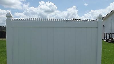 PVC Vinyl Fence Bird Spikes Anti Climb Strip Wall Ledge Repellent Deterrent USA