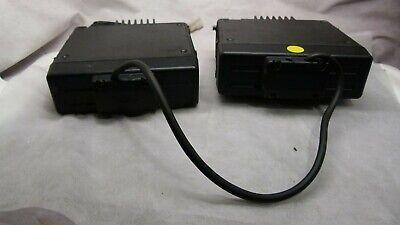 Lot Of 2 Vertex Standard Model Vx-4000l And Vx-4000v Two Way Radio