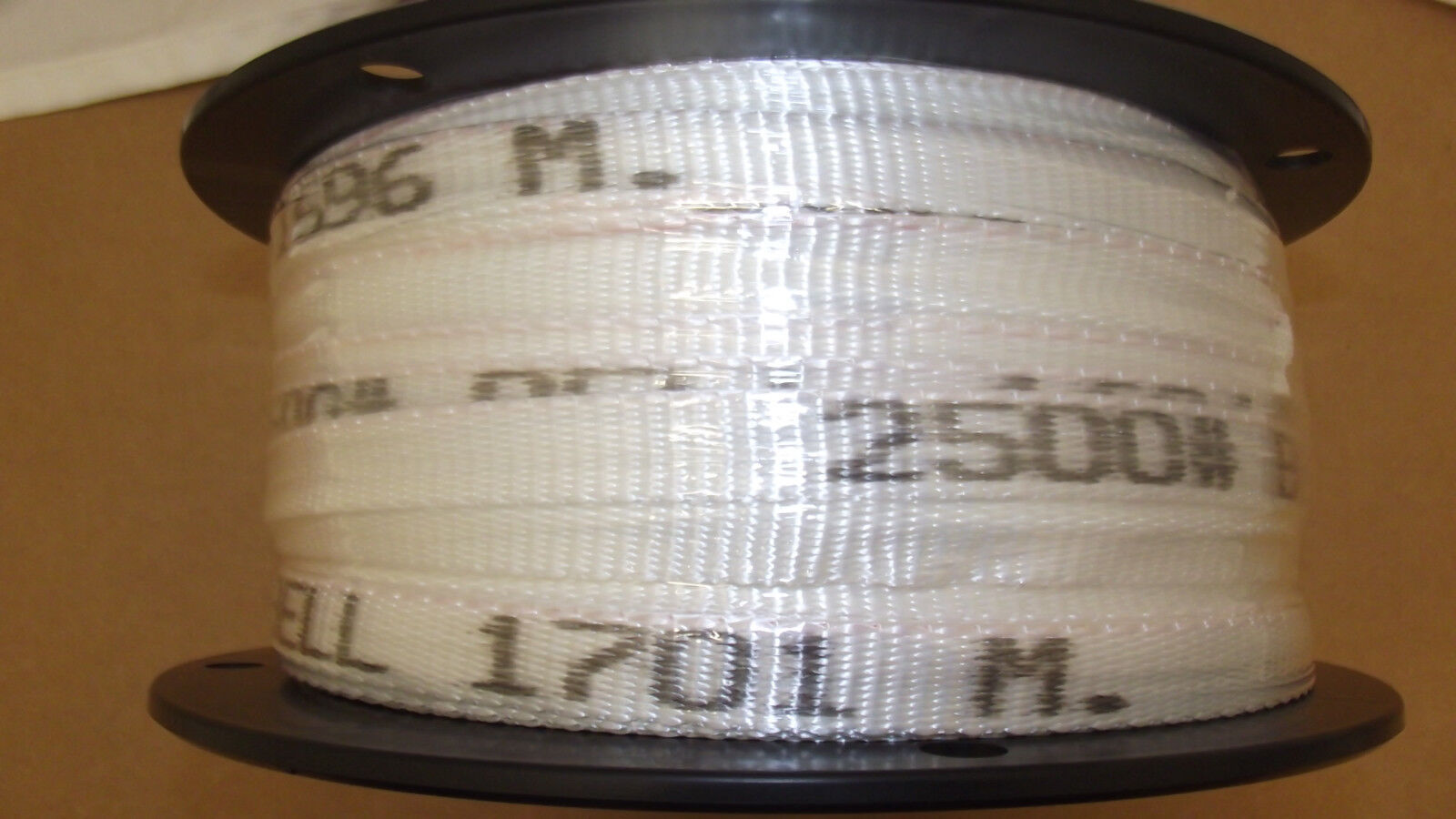34 x 500  2500 tensile polyester pull tape mule tape webbing