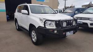 2012 Toyota Landcruiser Prado GXL AUTO TURBO DIESEL Williamstown North Hobsons Bay Area Preview