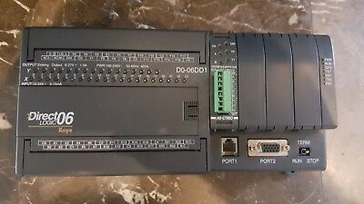 Automation Direct Logic D0-06dd1 Plc W Ho-ctrio Module
