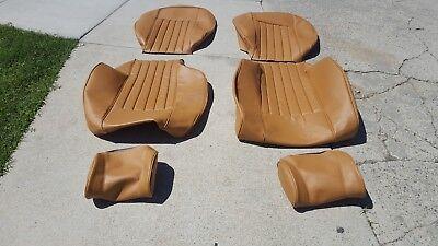 Upholstery Vinyl Kit - BMW E12 530i 528i STANDARD SEAT KIT GERMAN VINYL UPHOLSTERY KIT NEW BEAUTIFUL