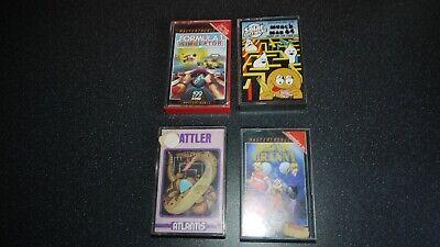 commodore 64 games bundle x 4