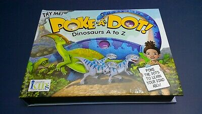 POKE-A-DOT! Dinosaurs A To Z (Out Of Print) by iKids BRAND NEW ](Dinosaur A To Z)