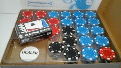 (Cosco) Original World Poker Tour Chips & Gaming Cards