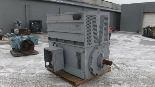 300 HP General Electric AC Electric Motor 514 RPM Fr 8309S TEFCBB TUBE 460 V EOK