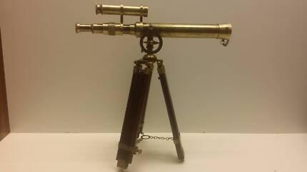 Karl Zies Germany 1937 Reproduction Brass Telescope 60 CM HIGH Pakenham Cardinia Area Preview