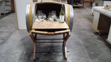 wine barrels as home decor or bar East Victoria Park Victoria Park Area Preview