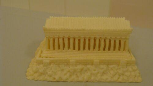 IFESTOS Handmade Genuine Alabaster Building Italy Souvenir