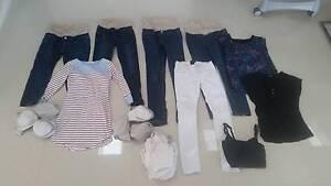 Size 8 Maternity Clothes Bundle Mount Warrigal Shellharbour Area Preview